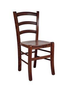 207 bois massif, Chaise provençale en hêtre massif, pour le restaurant
