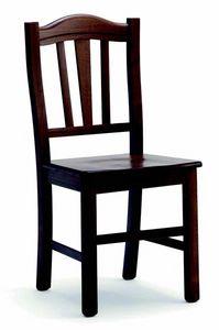 244 Silvana, Chaise en bois