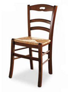 Menton, Chaise avec assise en paille