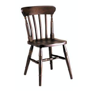 Old chaise, Chaise en hêtre entièrement solide pour les bars et pubs