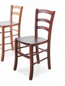 Paesana, Chaise en bois, style rustique