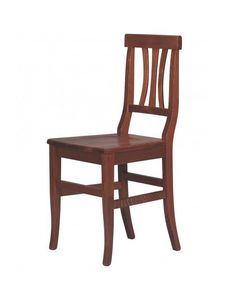R03, Chaise rustique entièrement fait de bois, de chalets, de pubs et tavernes