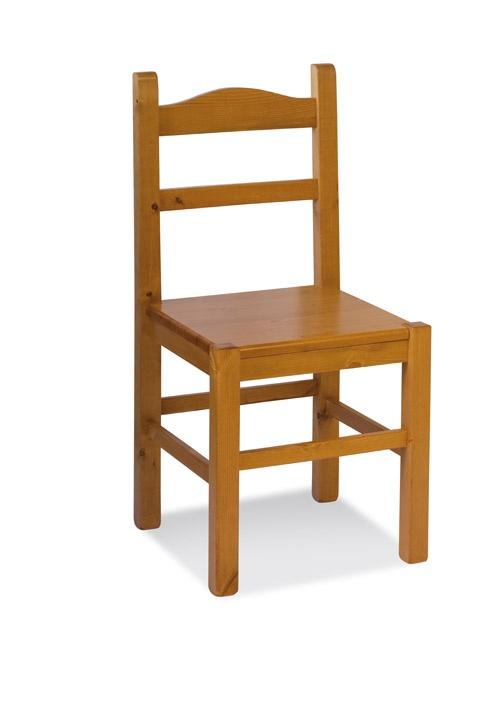 S/109 L Anita bois, Chaise entièrement en pin, pour bars à vin et maisons rustiques