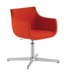 Day&Night Pad, Chaise avec siège pivotant pour salles d'attente