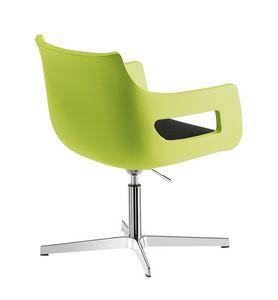 Day&Night, Chaise en polyéthylène réglable en hauteur