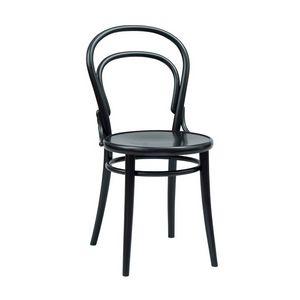 014, Chaise avec dossier en bois courbé pour le restaurant