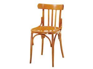 093, Chaise en bois pour les bars et pubs, style antique