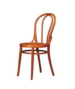 102, Chaise avec décor de style ancien, en hêtre, usage résidentiel
