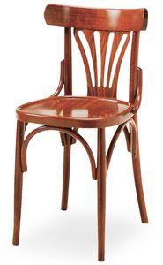 B06, Chaise en bois courbé pour les bars