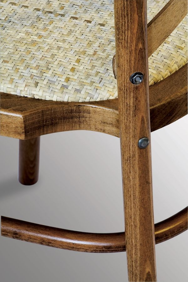 Ciao STK, Chaise empilable en bois massif