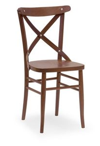 Croce 3, Chaise en hêtre, pour les restaurants