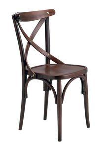 Golia, Chaire en bois de hêtre courbé pour les bars et bars à vin