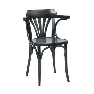 Katrin chaise, Chaise en bois courbé courbe, pour des pubs, bars, brasseries