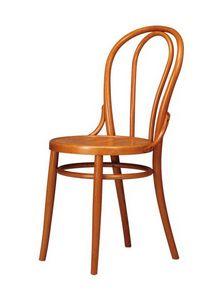 V02, Chaire en bois de hêtre courbé pour les berlines et les maisons de bière