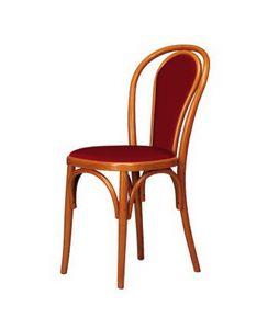 V03, Chaire en bois de hêtre courbé, le style viennois