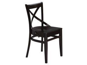 Wolf/S, Chaise fait entièrement de bois sombre