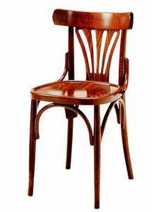 352, Chaise en bois, style Thonet