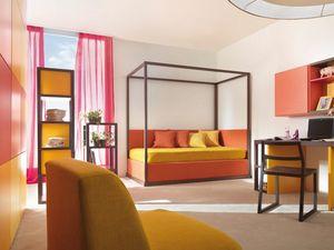 Boxer 9002, Chambre avec deuxième lit gigogne