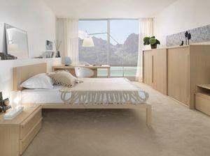 Boxer 9005, Mobilier complet pour chambre à coucher, avec armoire coulissante