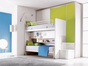 Comp. 302, Chambre avec lit superposé, personnalisable