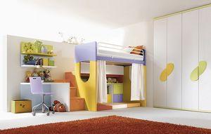 Comp. 902, Meubles pour aire de repos pour les garçons chambre personnalisable