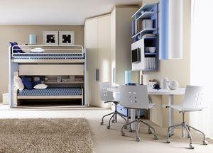 Comp. 906, Solution pour la chambre des enfants, la configuration angulaire