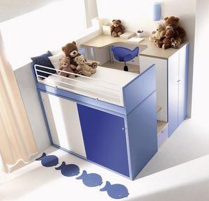 Comp. 909, Les systèmes modulaires pour les enfants, différentes couleurs