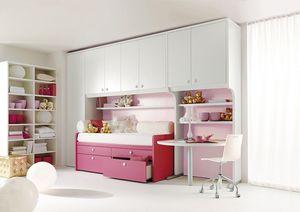 Comp. 930, Meubles pour les chambres, les composants modulaires pour enfants