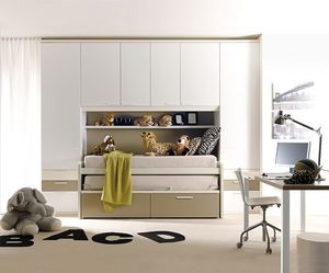 Comp. 932, Chambres colorées, conception géométrique et essentiel