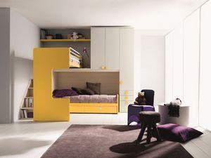 Comp. New 407, Chambre élégante et fonctionnelle, avec un lit double, coin mezzanine