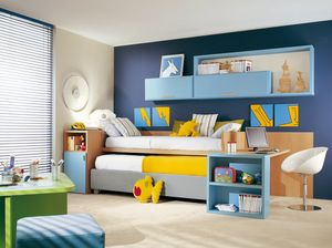 Compact 4005, Chambre avec deuxième lit gigogne