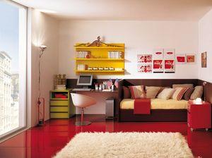 Compact 4006, Meubles de chambre d'enfant pour une petite pièce