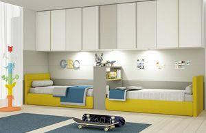 Cool comp.10, Chambre à deux lits, avec beaucoup d'espace de jeu gratuit