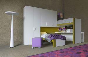 Cool comp.23, Chambre à coucher avec des lits coulissants
