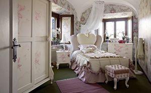 Gaia, Chambre de fille avec un lit en forme de coeur