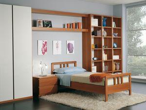 Garçons Chambre 02, Chambre modulaire dans un style moderne