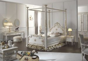 Honey chambre d'enfant, Chambre d'enfant avec lit à baldaquin