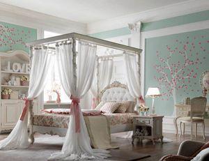 Luigi XVI Luigino, Chambre de fille, au style élégant et luxueux