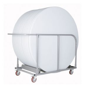 Resol.C - Carro 1, Chariot en métal pour les tables empilables, pour les restaurants