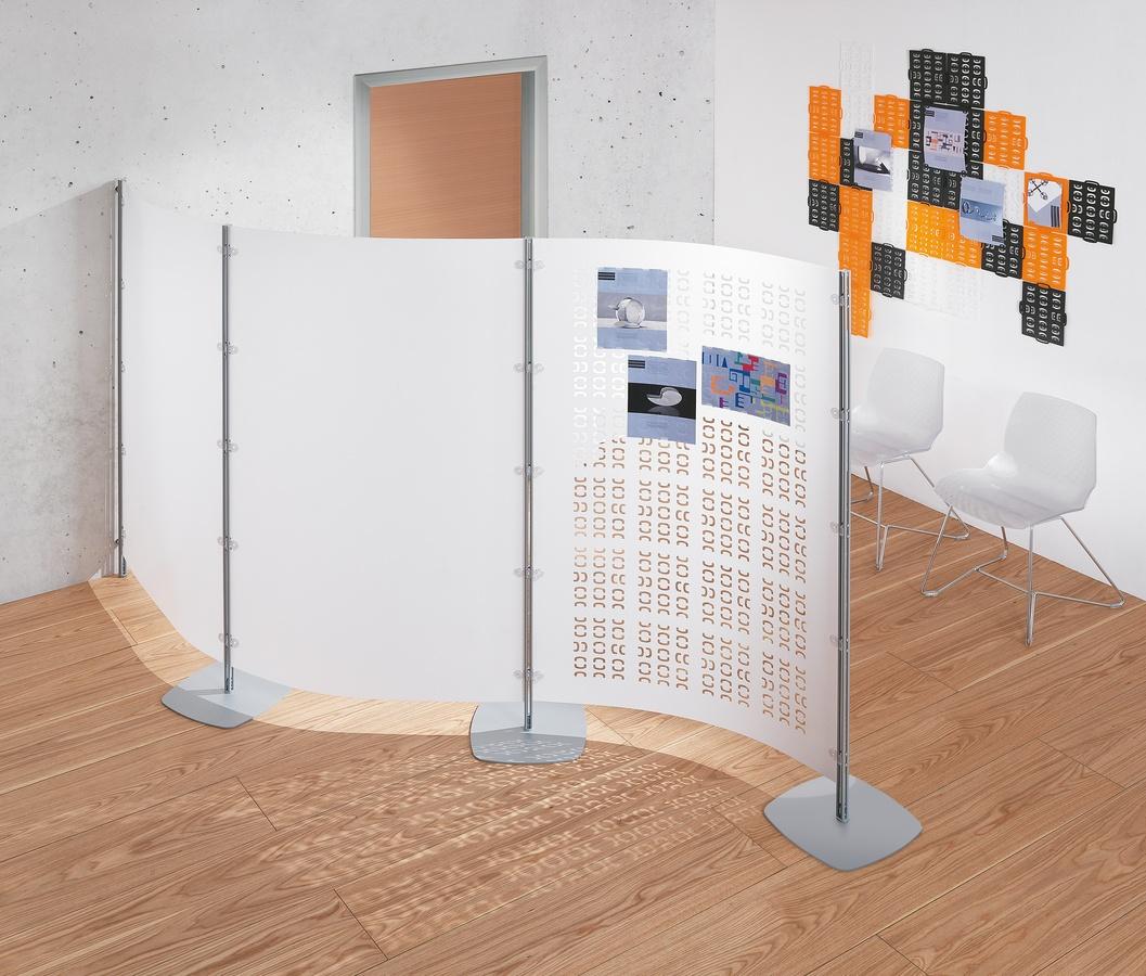 Arianna 4, Panneaux modulaires de partitions pour les bureaux
