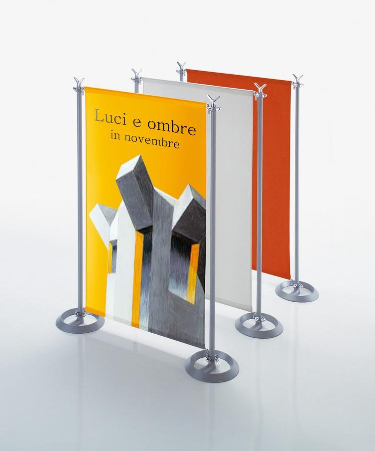 Battista partition system, Cloisons dans le corps d'acier et d'aluminium pour l'espace ouvert
