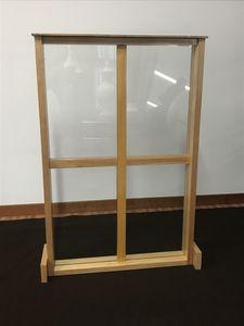 Cloison, Cloison de séparation en verre incassable