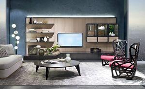 LB48 Desyo bibliothèque, Mur modulaire pour le salon