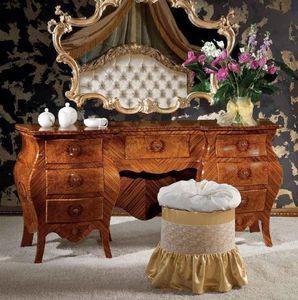 Art. 373, Coiffeuse avec tiroirs en bois, style classique