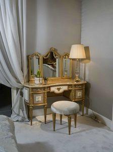 Coiffeuse 3705 Style Louis XVI, Coiffeuse pour chambre de luxe