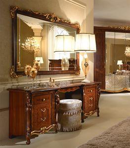 Donatello coiffeuse, Coiffeuse de luxe, décoré à la main, pour la chambre à coucher