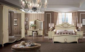 Tiziano coiffeuse, Classique coiffeuse de luxe, les chambres à coucher