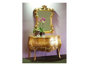 Art. 1603 Jasmine, Commode classique, finition feuille d'or, pour les suites de l'h�tel
