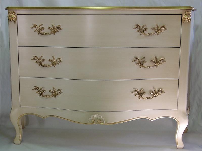Art. 1787 ivory, Commodes en bois décorées, des chambres de luxe classiques