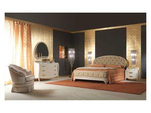 Art. 2010 Chest of Drawers, Coiffeuse de style, pour une chambre de style classique, en bois